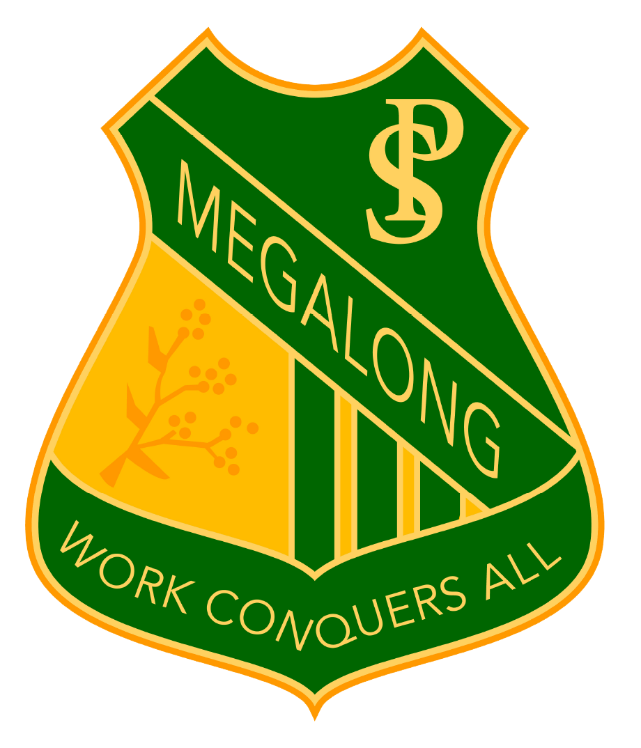 Megalong Public School logo